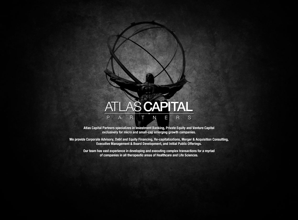 Atlas capital partners llp for 101 park avenue 41st floor new york ny 10178